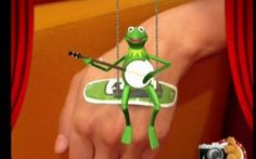 A new app from Johnson & Johnson lets you see Muppets on your Band-Aid. fuck the hensons while im at it.