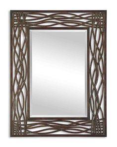 Bathroom mirror idea.