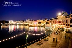 A view of Disney's BoardWalk from Atlantic Dance Hall #reception