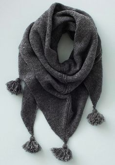 tassel scarf via @Melissa Squires Squires Spivak. french *