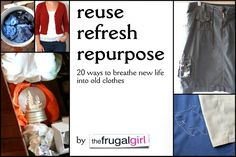Reuse, Refresh, Repu