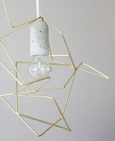 Weekday Carnival DIY Geometric Lampshade