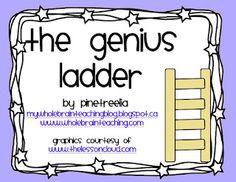 Genius Ladder {Whole Brain Teaching)