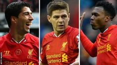Liverpool trio Luis Suarez, Steven Gerrard and Daniel Sturridge have been nominated for the Professional Footballers' Association's player of the year award. Manchester City midfielder Yaya Toure, winger Eden Hazard of Chelsea and Southampton playmaker Adam Lallana complete the list. Sturridge and Hazard have also been nominated for the young player award, along with Liverpool's Raheem Sterling, Arsenal's Aaron Ramsey, Everton's Ross Barkley and Southampton's Luke Shaw.