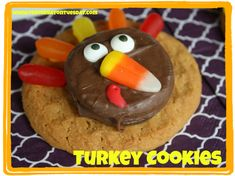 Is it too late to make these Turkey treats? So adorable.