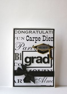 Graduation Handmade Card by SusanTracie on Etsy, $6.50