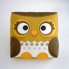 Forest Owl, $15, now featured on Fab.
