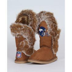 Cuce Shoes Denver Broncos Women's Fanatic Boots - NFLShop.com
