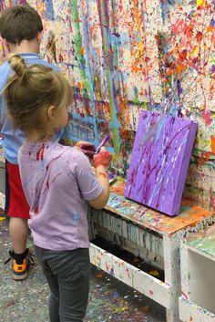 """""""Splatter"""" Art (from Mama. Papa. Bubba)"""