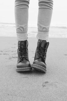 Combat boots look better in the sand