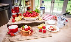 Home & Family - Recipes - Cristina Cooks Strawberry Pie | Hallmark Channel