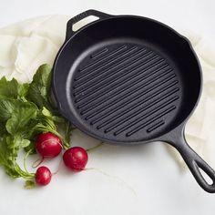 Lodge Cast Iron Grill Pan | west elm