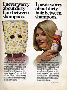 If you were a teenager in the 70's, you will remember that split ends posed a very serious problem. :)