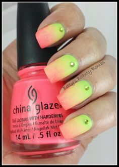 Today's post is for the He Picks My Polish challenge. :) http://www.bettysbeautybombs.com/2014/05/26/picks-polish-may-2014/ . Nail Art for the #HePicksMyPolish challenge using two from the China Glaze City Flourish collection