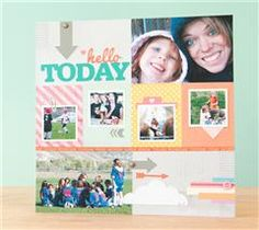 Celebrate every day moments with this happy layout!
