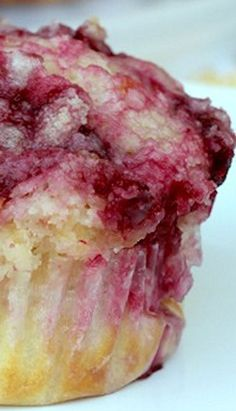 Raspberry Lemon Muffins Recipe