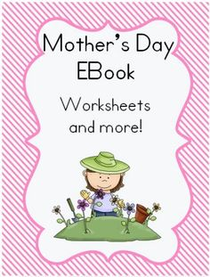 Mother's Day EBook Worksheets 50 pages $