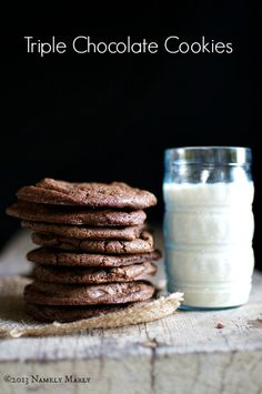 Chocolate Chocolate Chip Cookies | Namely Marly
