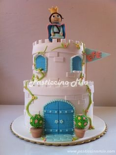 Castle Cake By PasticcinoMio on CakeCentral.com
