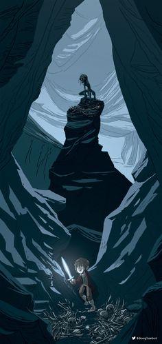 The Hobbit by Douglas Holgate