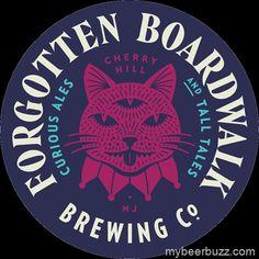 Forgotten Boardwalk Brewing Co in Cherry Hill, NJ #craftbeer #beer #thedigest #hoboken #nj