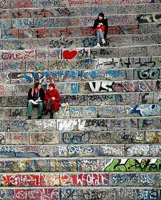Mauerpark, Berlin  Berlin, Germany  http://www.travelandtransitions.com/our-travel-blog/berlin-2011/