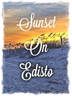 Sunset on Edisto Beach, SC
