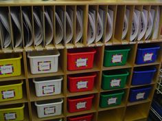 lots of classroom organization ideas: how much to build something like this??