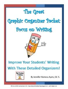 Here are a few FREE graphic organizers that have been used in writing.