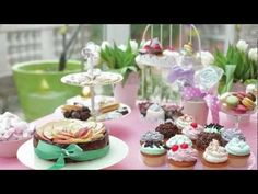 "❥ ""A Tea For You"" - cute video showing a tea party set up - includes making the tea and setting out all the goodies - done to music - very cute"