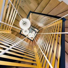 Zoomfactor Architectes updates a city hall with a spiralling staircase.