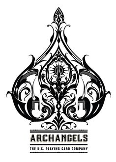 ARCHANGELS – BICYCLE PLAYING CARDS by Ginger Monkey, via Behance