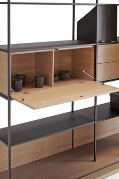 Literatura Open by Punt Mobles | Library shelving systems
