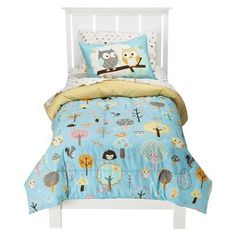 Circo® Love n Nature Bedding Set - Yellow/Blue - comforter and sheet set $48