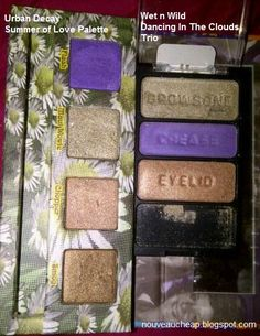 Wet n Wild dupe for an Urban Decay palette
