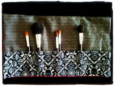 Makeup Brush Roll! Come and See and Enjoy! www.jaebellaboutique.com