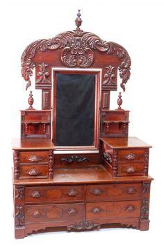 Victorian Dresser  c. 19th Century