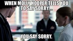 I love how Molly got to be a badass.