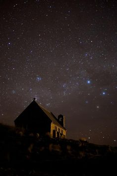 Night Sky Without Light Pollution