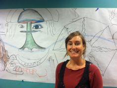IAIA Community Mural facilitated by SWC Art Therapy Intern, Linnea. www.iaia.edu therapi educ, artart therapi, therapi adventur