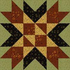 Wyoming Valley quilt block