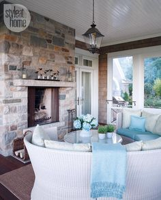 Interior: Hollywood-inspired country getaway