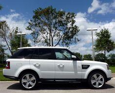 2013 Land Rover Range Rover Sport in Fuji White