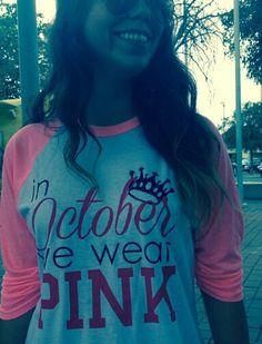 In October, we wear pink. | #ZTA Zeta Tau Alpha