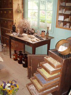 Herbal Storage.