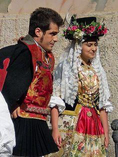 Sardinia, Traditional costume