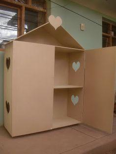 Como hacer una casa de muñecas de madera paso a paso
