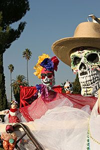Days of the Dead  - The History of Day of the Dead.. click on image