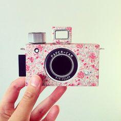 diy paper camera, pinhol camera, camera owlvdov, papers, bell camera