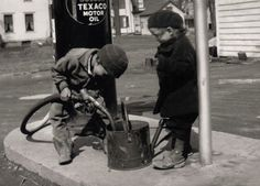 Kids and Gas